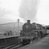 One of the class which took over from the Manor's in October 65 Machynlleth allocated 75002 arrives into Morfa Mawddach ( Barmouth Junction) on 16/10/65 with the Pwhelli portion of the up Cambrian Coast Express.