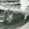 BR Standard 5MT 73065 pulls away from Waterloo on 05/11/65 with the 14 10 milk empties for Clapham Yard.