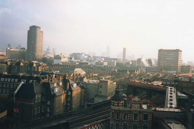 The view from the roof top - looking east.