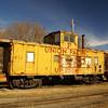Union Pacific caboose found in Falls City, NE.