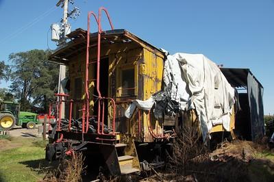 St Joseph & Grand Island caboose located near Alda, NE