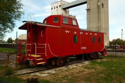 Moberly, MO Wabash caboose