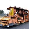 6295 (519) Matisa Ballast Regulator - Weardale Railway 14.04.16