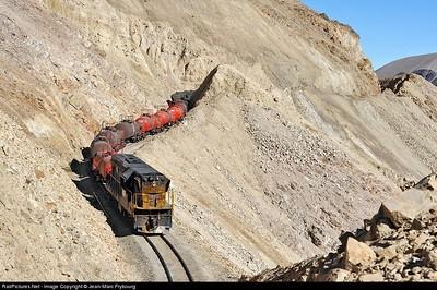 Well done Chilean rail roads tracks