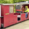 No No. 'Philip Adrian Laird Benefactor' Bogie Brake Third 2 Comp - Wells & Walsingham Railway 04.05.17