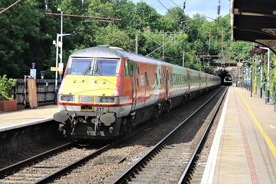 91110_82211 pass Welwyn North 1548/1s23 Kings Cross-Edinburgh   24/05/20