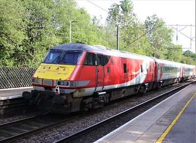 DVT 82219 seen on the rear of 0836/5Z91 Bounds Green T&RSMD - Doncaster Down Decoy passing Bayford  06/06/20  Consist... 12201 12401 12459 12478 12301 10320 11277 11303 11403 82219