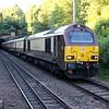 67024 tnt 67021 past Welwyn North 1922/1z84 Cambridge-Kings Cross Pullmans   25/06/18
