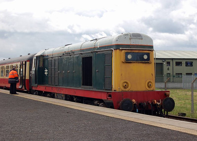 20166 at Leeming Bar, having just arrived with the 1320 from Redmire