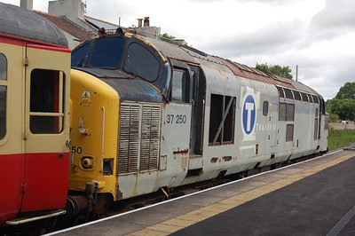 37250 at Leyburn, having arrived with the 1125 from Redmire on 24th June