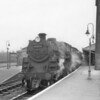 My first photograph using the Christmas present of a Kodak Colorsnap 135 camera was taken at Wimborne on 25/04/64. The 06 35 Weymouth to Brockenhurst (via the Castleman's Corkscrew) has Bournemouth's Standard 4MT 76026 in charge - the line closing the following week.