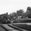Retrospectively I was fortunate to catch a run with an M7 on the Swanage branch that day. Non auto-fitted Ivatt 41312 is photographed crossing my service at Corfe Castle on 09/05/64 with the 17 00 Swanage to Bournemouth Central - the locomotive surviving into preservation.