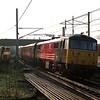 86205 City of Lancaster departs Oxenholme propelling the 10:00 Glasgow to Euston 23/12/2000.