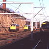 86101 and 87002 bask in the morning sunshine at the Citadel on ice breaking standby, 13/3/2013.