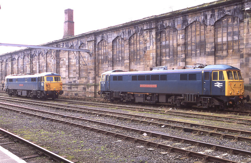 Sir William and The Sovereign stand in the shadow of the wall at the Citadel in what was thought at the time to be their last season of ice breaking standby, 20/2/2013.