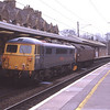 At one time you could see Seven's several times a day here but this time was thought to be my last ever chance to capture an 87 at my local station after ACLG/ETL had announced the withdrawal from mainline running because of the cost of fitting the GSM-R in cab radios. Luckily The Sovereign has now had them fitted and is now back in action with GBRF on the Sleeper contract.<br /> 47245 drags 87002 Royal Sovereign from Carlisle to Willesden through Oxenholme at the end of the 2012/2013 winter ice braking season, 11/4/2013.