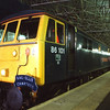 86101 Sir William Stanier stands at Edinburgh having arrived with a Rail Blue Charters tour The West Coast Premier II from Watford 6/5/2011