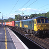 86612 and 86604 scream through Oxenholme with the early evening freightliner, 26/5/2015.