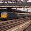 With a father showing his son what a proper electric loco looks like 86101 Sir William Stanier stands at Doncaster<br /> having arrived with the 10:42 Hull Trains service from Kings Cross 13/4/2008