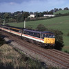 86258 Talyllyn approaches Oxenholme with the 14:40 Edinburgh-Birmingham New Street, 23/9/2000.