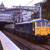 86101 Sir William Stanier departs from Edinburgh bound for Craigentinny with empty stock from the Rail Blue Charters tour The West Coast Premier II from Watford 6/5/2011