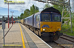 66432, BLS Cat & Dock, Stafford Platform 6, 1Z48, 15th June 2017