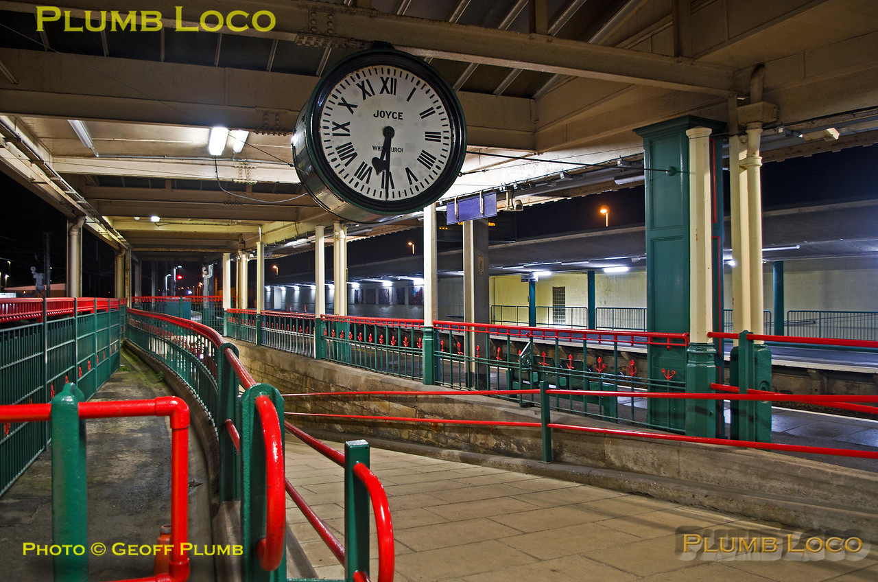 Carnforth Station Clock, 23rd January 2016