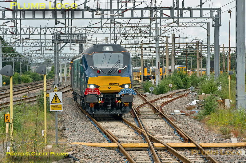 """68023 """"Achilles"""", Bletchley Up & Down Relief 2, 1Z68, 23rd June 2016"""