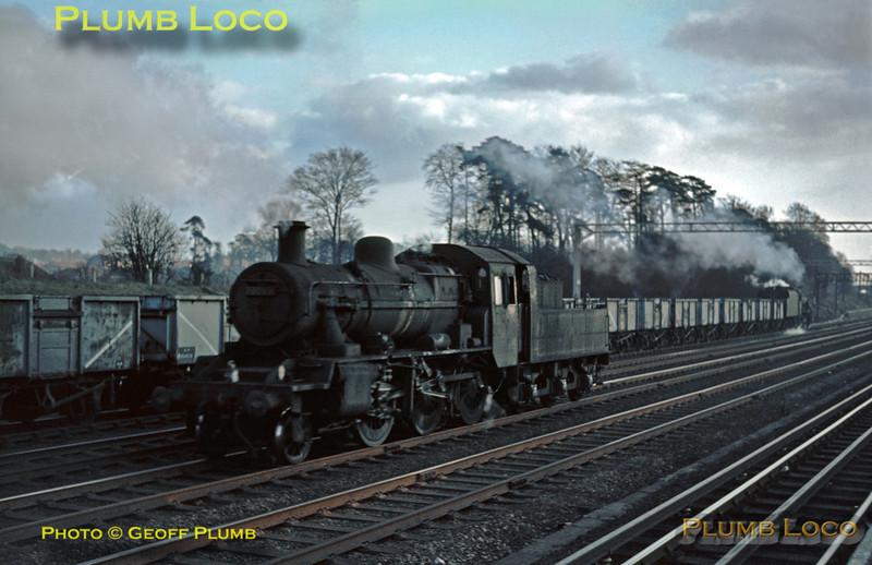 78060 & 48203, Carpenders Park, 1st February 1964