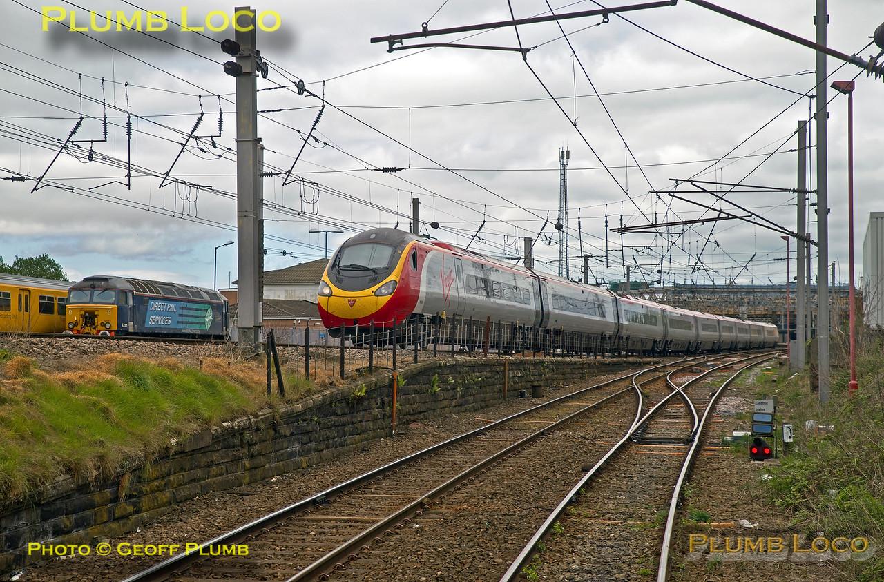 """PoV 185 108, BLS """"Vallum Hadriani"""", Carlisle Shunt Neck, 1Z18, 390 002, 7th May 2017"""