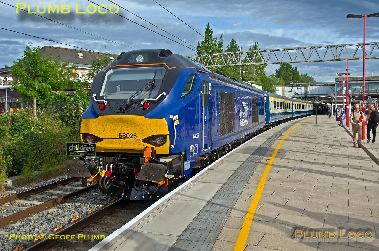 68026, BLS Cat & Dock, Stafford Platform 6, 1Z48, 15th June 2017