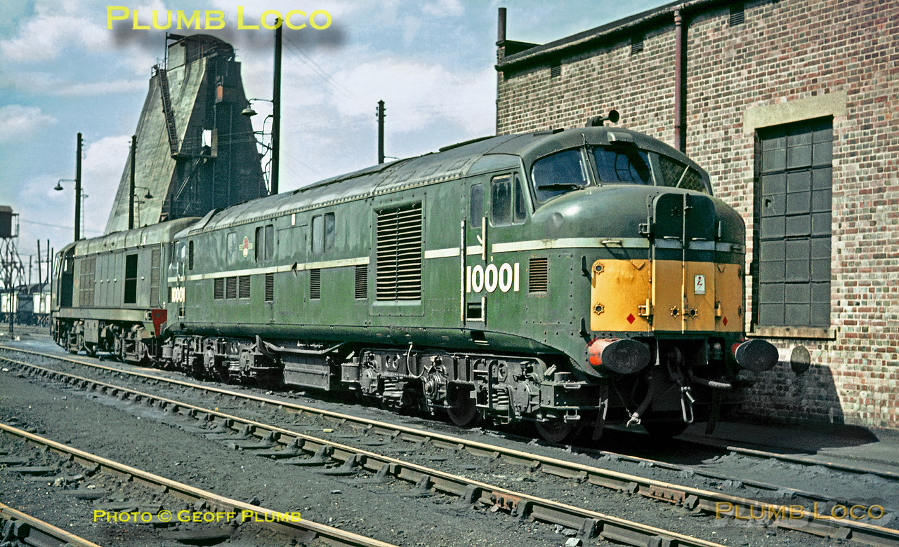 10001, Willesden MPD, 3rd May 1964