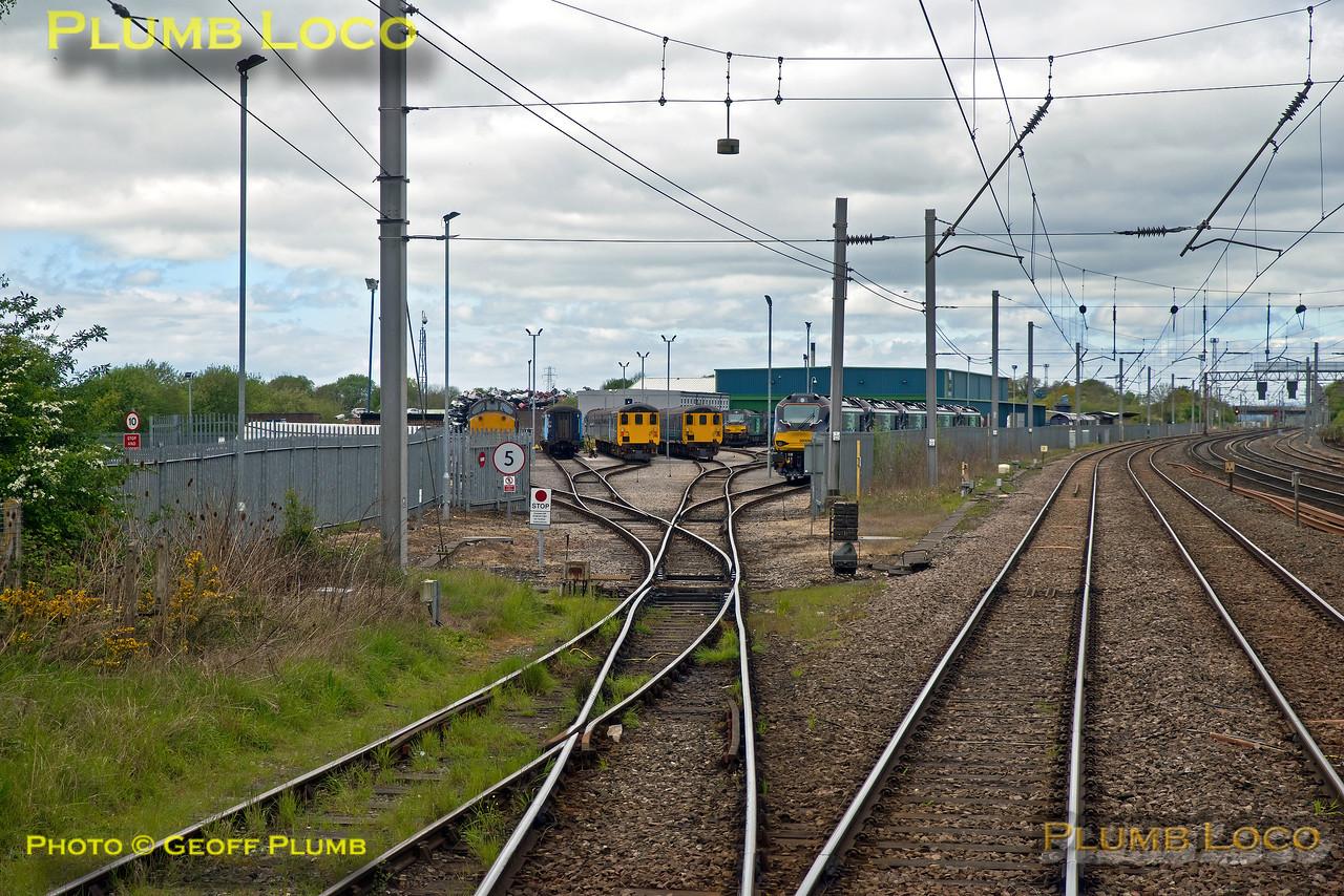 """PoV 185 108, BLS """"Vallum Hadriani"""", Carlisle Kingmoor, Down Goods, 1Z18, 7th May 2017"""