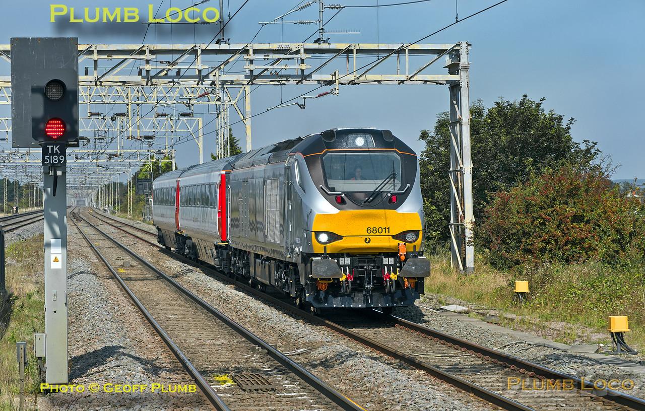 68011, Cheddington, 5Z56, 8th September 2014
