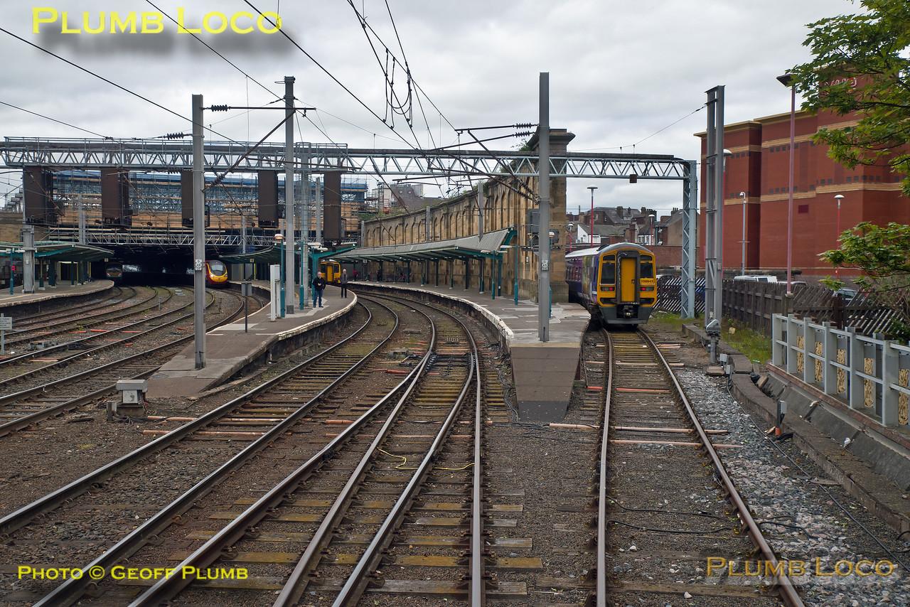 """PoV 185 108, BLS """"Vallum Hadriani"""", Carlisle Platform 6, 1Z18, 7th May 2017"""