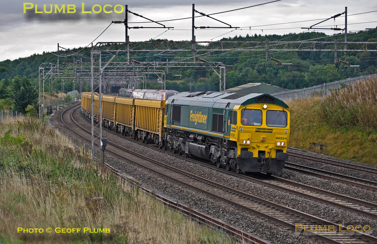 66524, Old Linslade, 6Z77, 3rd September 2015