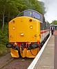 BR Class 37 Diesel Loco 37518 - Garelochhead Station - 3 August 2012