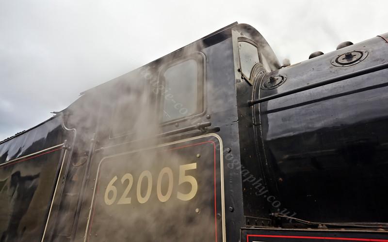 Locomotive (62005) at Garelochhead - 26 October 2013