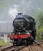 61994 Arriving at Garelochhead Railway Station - 10 May 2011