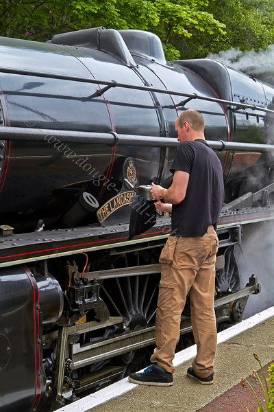 'The Lancashire Fusilier' 45407 - Garelochhead Station - 14 June 2013