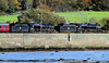 44871 & 45407 Taking Water at Craigendoran - 30 October 2010