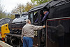 Chatting to the Driver in Garelochhead - 26 October 2013