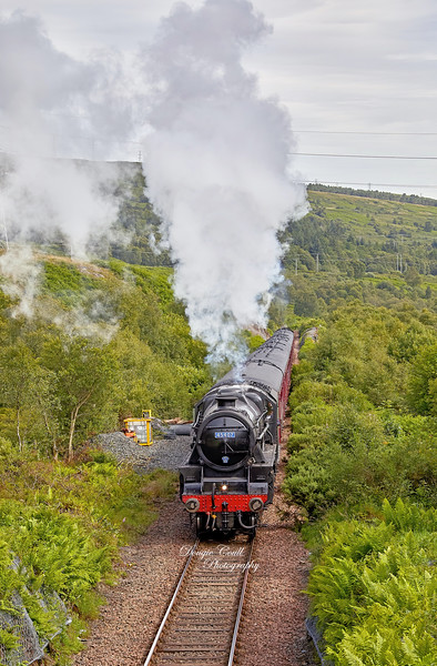 West Highland Line - Whistlefield - 12 July 2020
