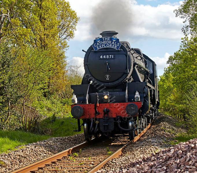 Steam near Helensburgh - 13 May 2014