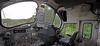 BR Class 37 Diesel Loco 37518 Cab Interior - Garelochhead Station - 3 August 2012