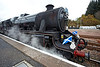 44871 at Crianlarich Station - 27 October 2012