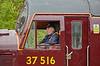 """""""Loch Laidon"""" (37516) at Crianlarich Station - 4 July 2016"""