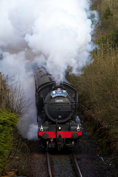 The Great Marquess - 61994 - Helensburgh Station - 25 April 2013