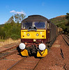 West Coast Railways Class 47 Diesel Locomotive - 47760 - Garelochhead Station - 13 October 2013