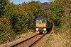 West Coast Railways Class 47 Diesel Locomotive (47760) Climbs Uphill from Garelochhead - 13 October 2013